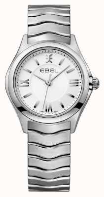 EBEL Zegarek ze stali damskiej Wave 1216374