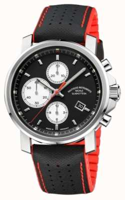 Muhle Glashutte 29er duży chronograf automatyczny męski ze skóry / gumy M1-25-43-NB