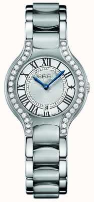EBEL Damska beluga diamentowa ze stali nierdzewnej 1216069