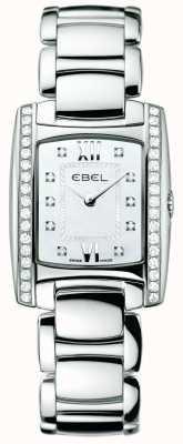 EBEL Damska diamentowa brasilia ze stali nierdzewnej 1215607