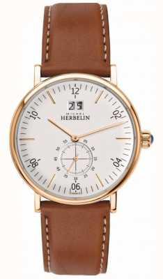 Michel Herbelin Męski zegarek z chronografem 18247/PR11GO