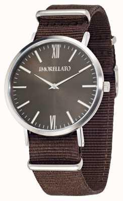 Morellato Męski pasek zegarka z brązowymi tarczami R0151134007