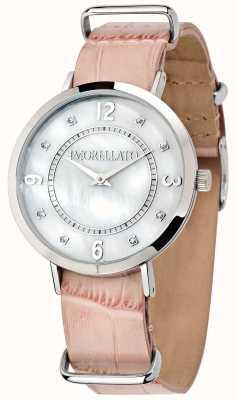 Morellato Zegarek ze skóry w różowym kolorze R0151133508