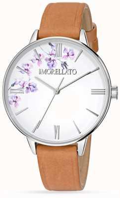 Morellato Zegarek z brązowej skóry dla kobiet R0151141507