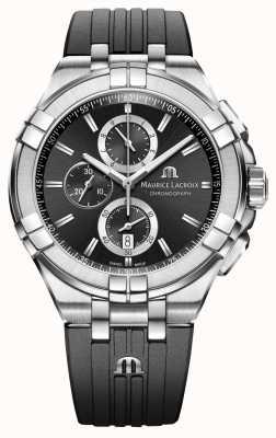 Maurice Lacroix Męski zegarek chronograficzny aikon AI1018-SS001-330-2