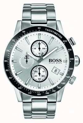 Hugo Boss Chronograf z białą tarczą chronograficzną 1513511