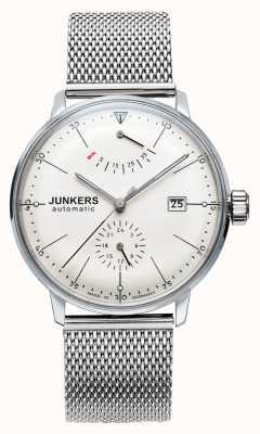 Junkers Męski zegarek ze stali bauhaus 6060M-5