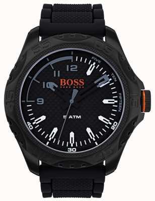 Hugo Boss Orange Męski zegarek marki honolulu z czarnej gumy 1550032