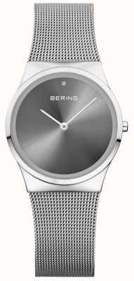 Bering Unisex klasyczny tarcza przeciwsłoneczna Sunray Silver Milanese 12130-009