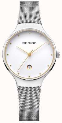 Bering Womans w stylu klasycznego srebrnego mediolańskiego paska 13326-001