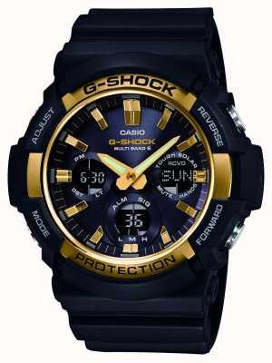 Casio Męski chronometr typu g-shock waveceptor alarm GAW-100G-1AER