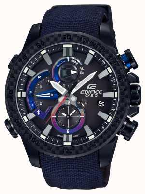 Casio Męski zegarek triple connect toro rosso bluetooth EQB-800TR-1AER