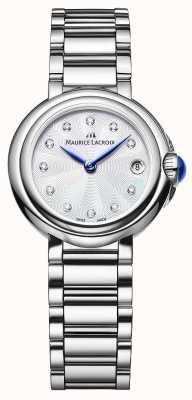 Maurice Lacroix Damski zegarek na rękę z 28 mm diamentem fiaba FA1003-SS002-170-1