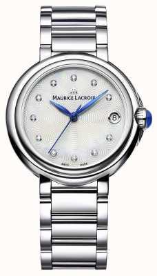 Maurice Lacroix Damski zegarek na rękę z diamentem 32 mm FA1004-SS002-170-1