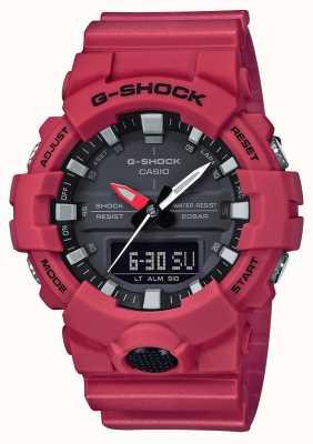 Casio Wielofunkcyjny męski zegarek na rękę G-Shock GA-800-4AER