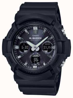 Casio Chronograf alarmu Waveceptora szary / czarny GAW-100B-1AER