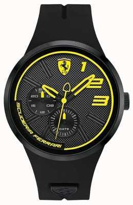 Scuderia Ferrari Fxx żółta i czarna tarcza 0830471