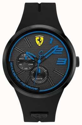 Scuderia Ferrari Czarny silikonowy męski 0830395