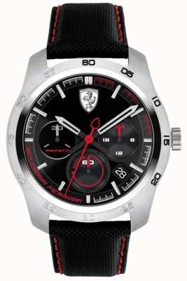 Scuderia Ferrari Primato czarna i czerwona tarcza 0830444