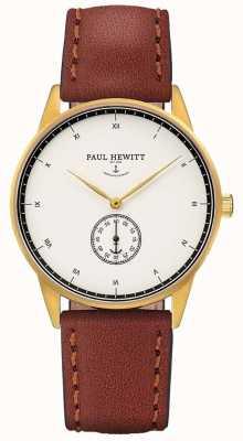 Paul Hewitt Unisex, brązowy skórzany pasek PH-M1-G-W-1M