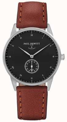 Paul Hewitt Unisex, brązowy skórzany pasek PH-M1-S-B-1M