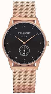 Paul Hewitt Uniwersalna, sygnowana różowym złotem siatka PH-M1-R-B-4M