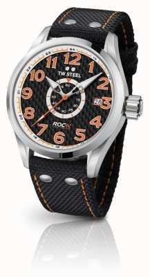 TW Steel Męskie wydanie specjalne volante wyścig mistrzów czarny pomarańczowy TW965