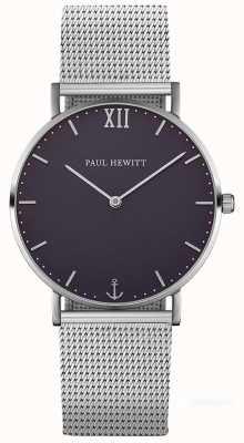 Paul Hewitt Unisex bransoleta ze srebra morskiego PH-SA-S-ST-B-4M