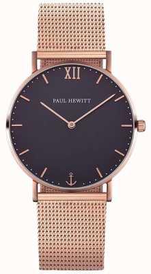 Paul Hewitt Unisex bransoleta z różowego złota PH-SA-R-ST-B-4M
