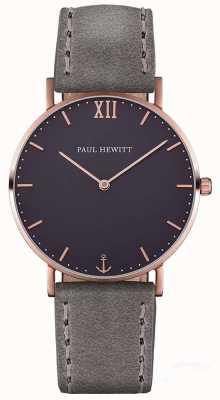 Paul Hewitt Uniwersalny skórzany pasek marynarski PH-SA-R-ST-B-13M