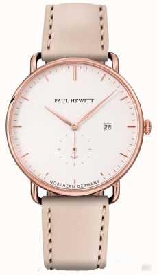 Paul Hewitt Womans wielka atlantycka różowo-złota obudowa ze stali nierdzewnej PH-TGA-R-W-22S
