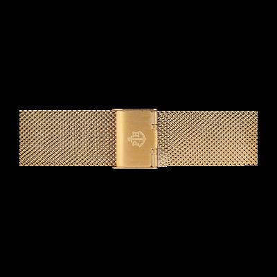 Paul Hewitt Złoty pasek z siatki ze stali nierdzewnej, rozmiar m PH-M1-G-4M