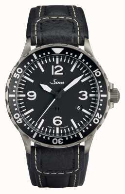 Sinn 857 pilotażowy, anty-magnetyczny, czarny pasek chronissimo, długość standardowa 857.012