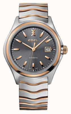 EBEL Męski zegarek o dwóch odcieniach szarości 1216333