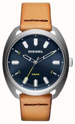 Diesel Męski skórzany zegarek fastbak DZ1834