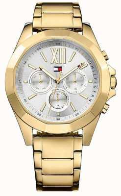 Tommy Hilfiger Damski złoty zegarek w kolorze chelsea 1781848