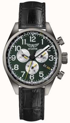 Aviator Męski zegarek airacobra p45 z chronografem V.2.25.7.171.4