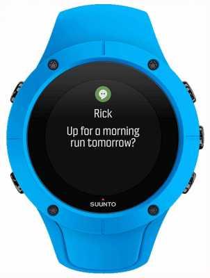 Suunto Unisex spartan trainer wrist hr niebieski zegarek sportowy SS023002000