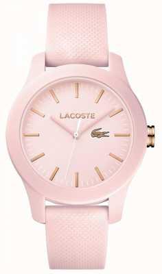Lacoste Womans 12.12 zegarek różowy 2001003