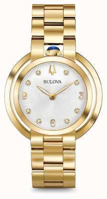 Bulova Diamentowy zegarek Womans rubaiyat 97P125