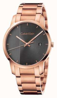 Calvin Klein Zegarek z różowym złotem K2G2G643
