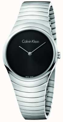 Calvin Klein Womans srebrny zegarek ze stali nierdzewnej K8A23141