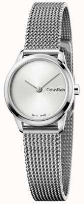 Calvin Klein Womans minimal zegarek srebrny wybierania K3M231Y6