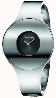 Calvin Klein Womans ze srebrnym, stalowym, bezszwowym materiałem do oglądania K8C2M111