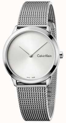 Calvin Klein Womans minimal zegarek srebrny wybierania K3M221Y6