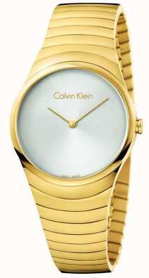 Calvin Klein Womans złoty zegarek ze stali nierdzewnej K8A23546