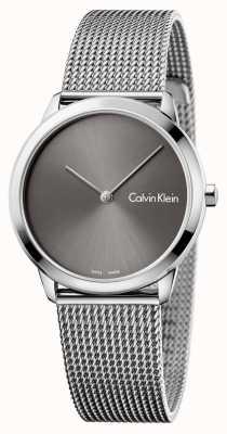 Calvin Klein Womans minimal zegarek szary wybierania K3M221Y3