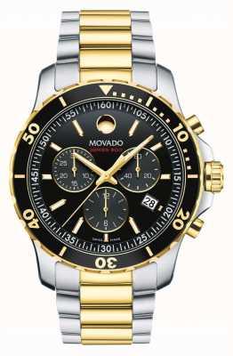 Movado Zegarek chronograf męski serii 800 2600146