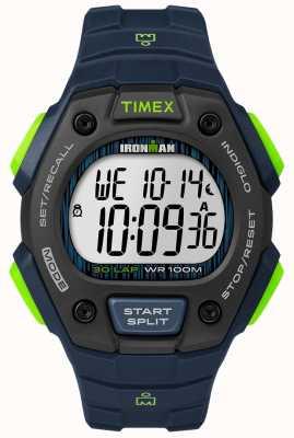 Timex Ironman classic 30 fs czarny i limonkowy TW5M11600D7PF