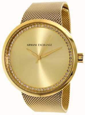 Armani Exchange Womans liv ze stali nierdzewnej AX4502